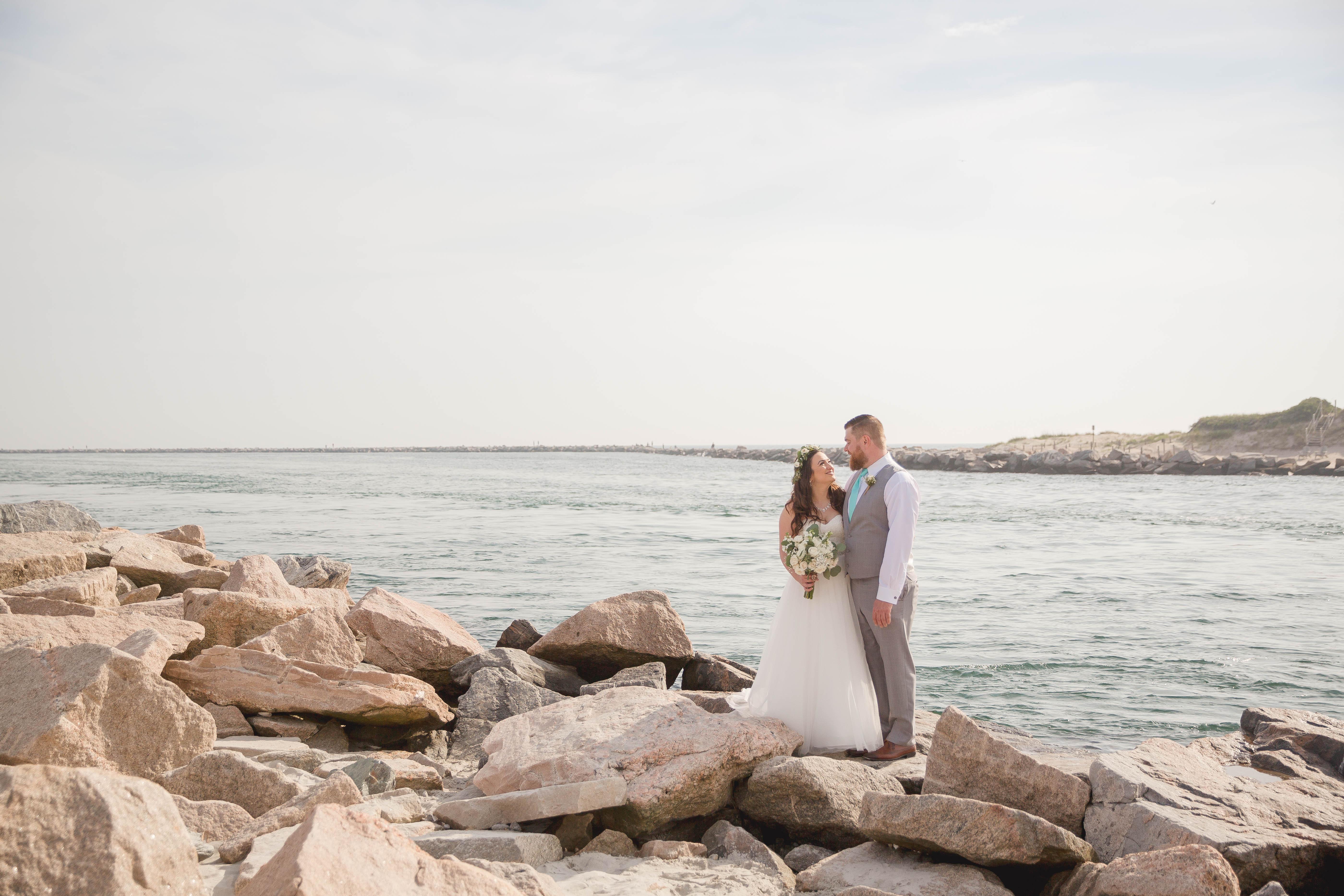 wedding, Rhode Island, beach, photography, couple, love, wedding photography, narragansett, Point judith,